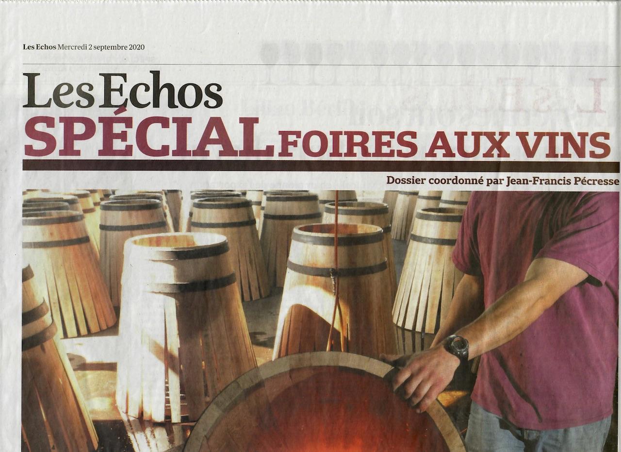 Lilian Bérillon dans les Echos