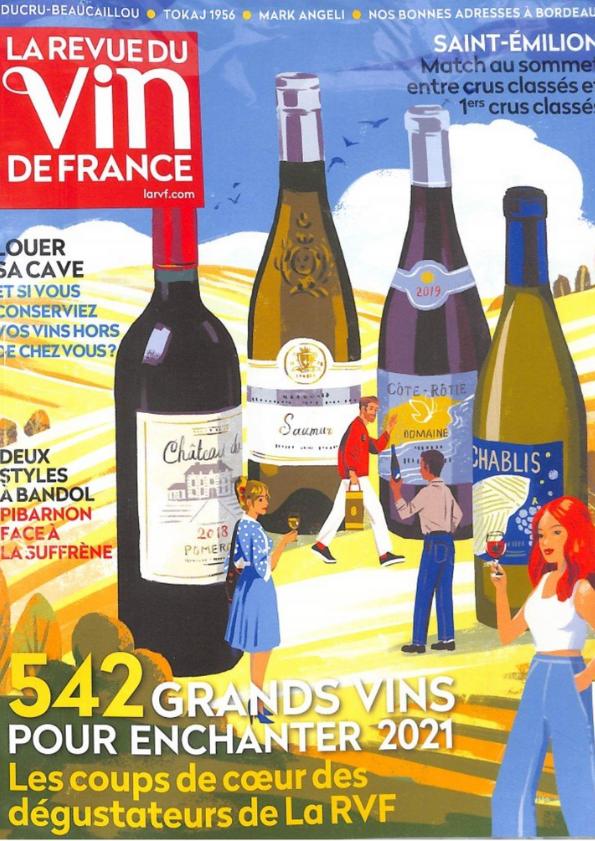 """""""Les grandes bouteilles du Languedoc"""" dans la RVF"""
