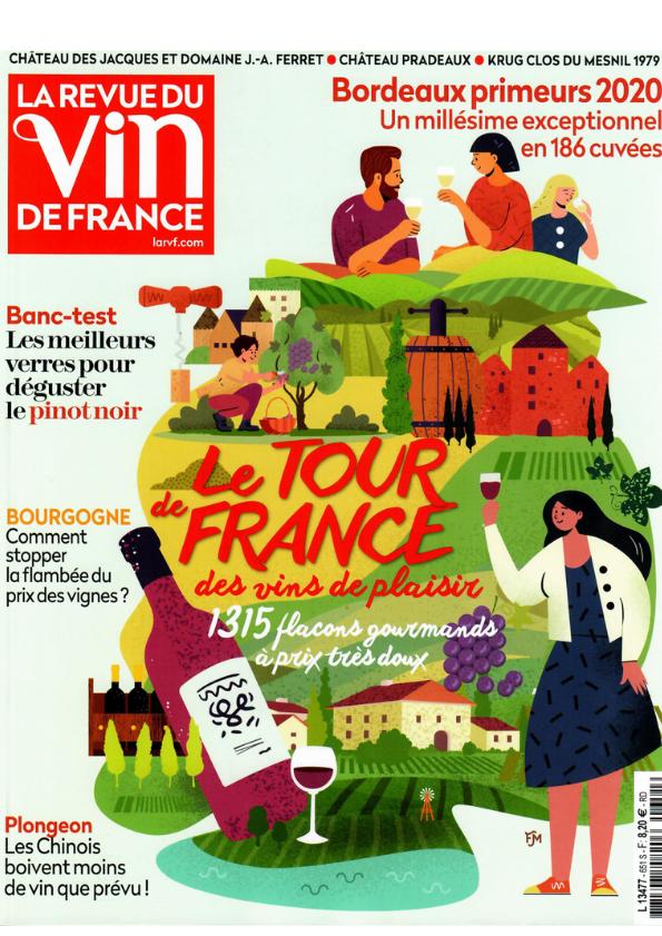 """""""Rien ne m'effraie"""" noté 90/100 dans La Revue du Vin de France"""